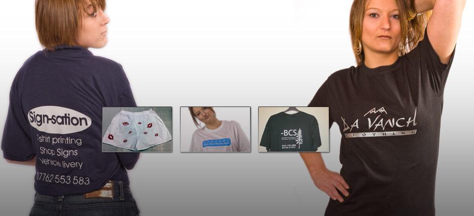 T-Shirt printing & clothing