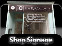 Shop signage and Commercial Graphics
